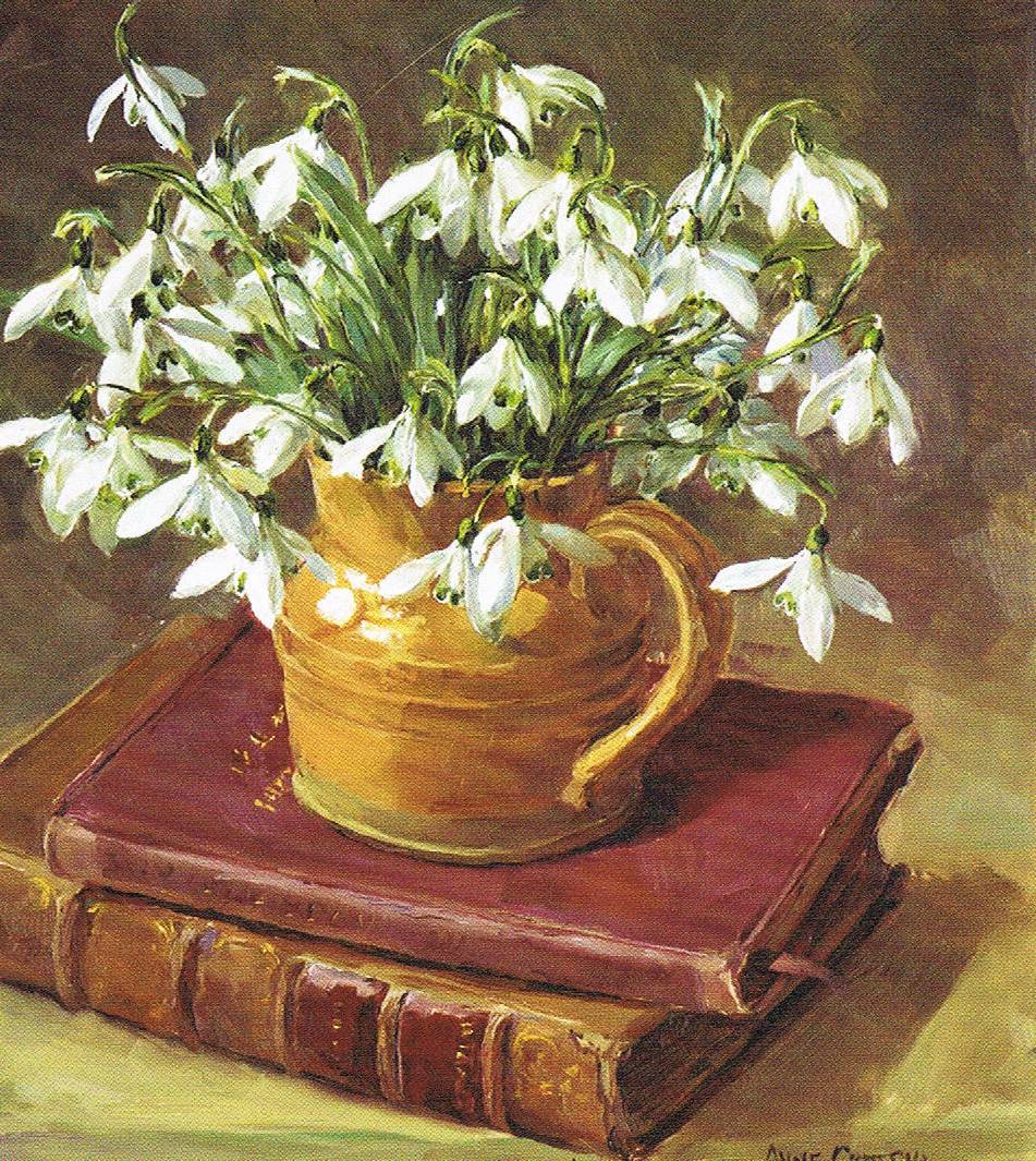 Books and Snowdrops