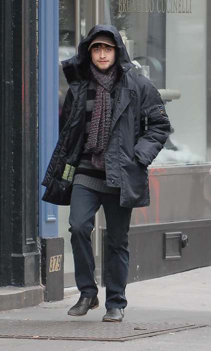 Daniel Radcliffe in the Street