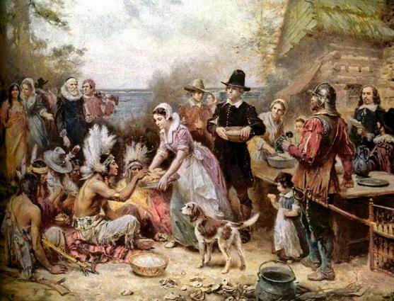 Jean Louis Gerome Ferris The First Thanksgiving