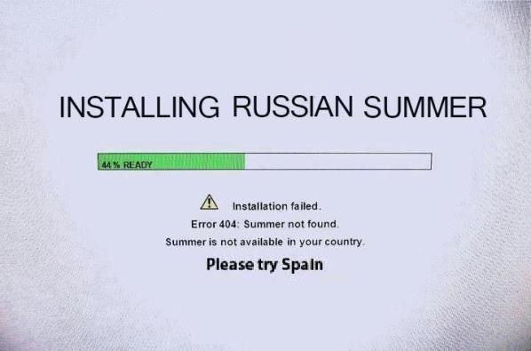 Installing Russian Summer